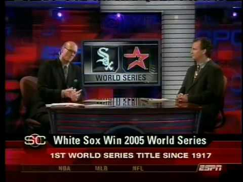 ESPN Sportscenter 2005 World Series Clinching by the Chicago White Sox PART 1