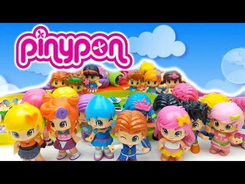 1000 PINYPON TUTTA LA MIA COLLEZIONE Ep.4 - giochi per bimbe - bambole alla moda con cui giocare
