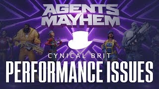 Agents of Mayhem is having performance problems on some PCs