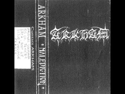 Arkham - Malédiction (2000) (Black Metal France) [Full Demo]