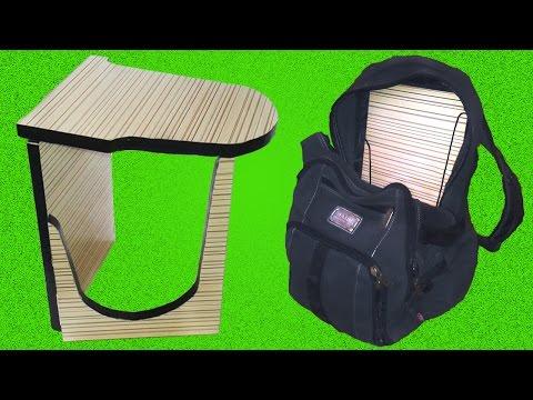 Как сделать оригинальный складной стул своими руками / How to make folding chair