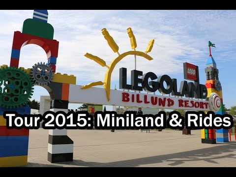 LEGOLAND Billund Tour 2015: Miniland & Rides