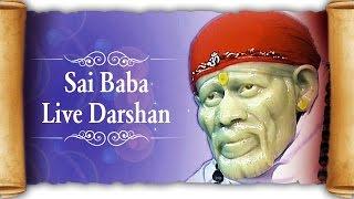 Sai Baba Live Darshan by Ravindra Bijur   Full Shirdi Yatra