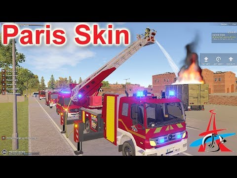 Emergency Call 112 – Paris Fire Brigade Gameplay! 4K