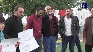 وقفة احتجاجية في إربد ترفض اتفاقية الغاز مع كيان الاحتلال - (5-4-2019)
