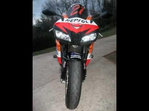 2008 Honda Cbr600rr Repsol Transformation Youtube