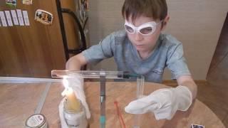 """Набор для экспериментов """"Юный химик"""". Углекислый газ из основного карбоната меди"""