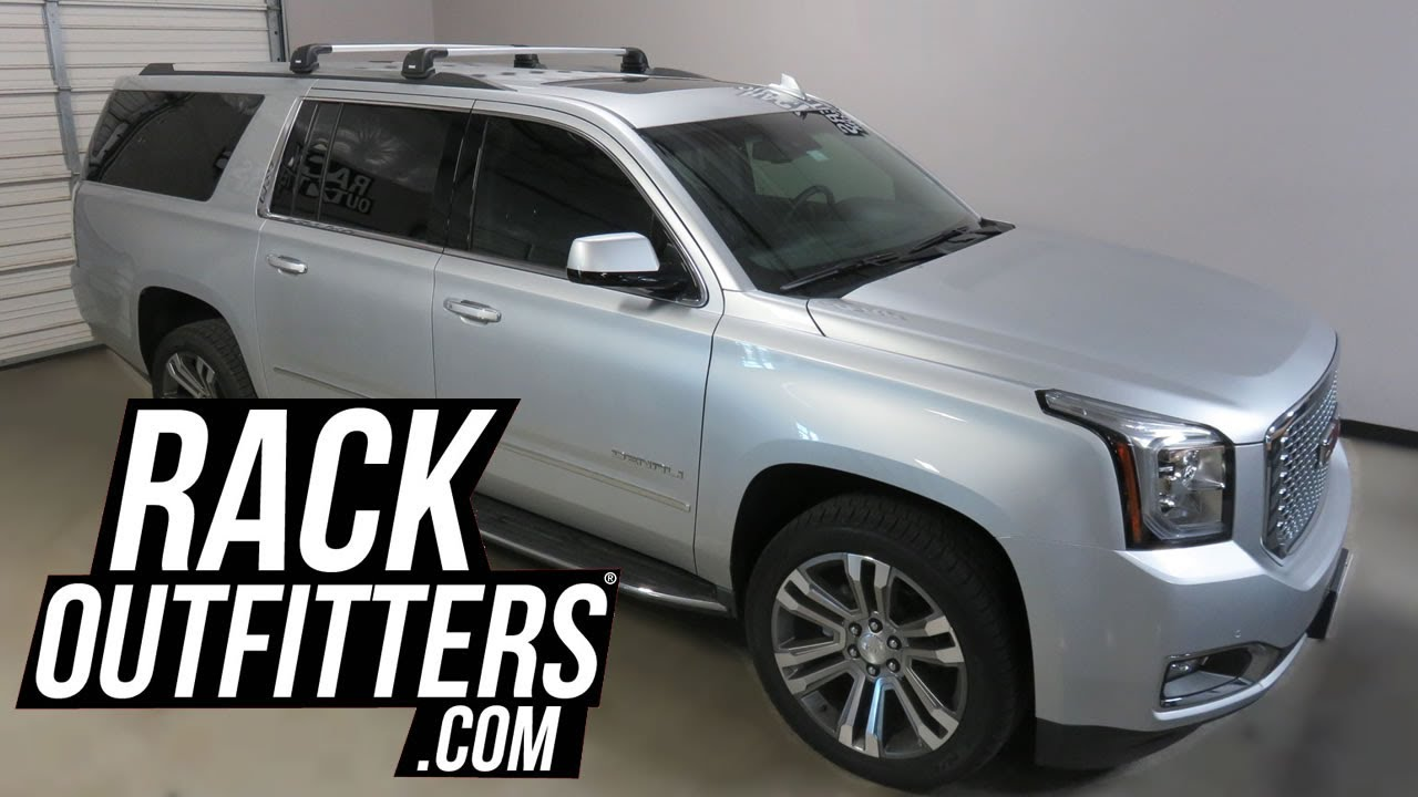 2015 Gmc Yukon Xl With Thule Aeroblade Edge Roof Rack