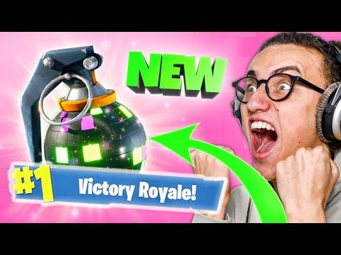 HILARIOUS NEW BOOGIE BOMB in Fortnite: Battle Royale