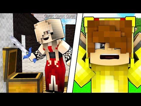 VAMPİR KIZ ŞAFAK KILICINI ÇALIYOR! 😱 - Minecraft