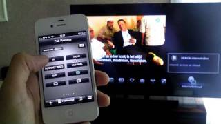 Sony Bravia KDL-46EX720 Vs. Apple Iphone