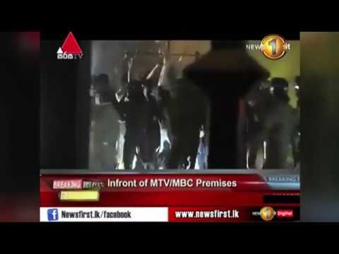 MTV/MBC Head Office Mobbed