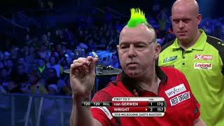 Peter Wright -  Michael van Gerwen I Melbourne Darts Masters 2018 I Semi Final FULL MATCH