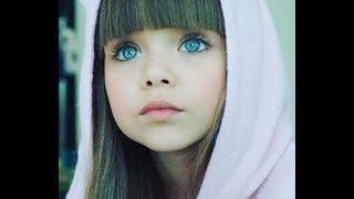 C голубыми глазами 6 летняя Анастасия из России признана ''Самой красивой девочкой в Мире''