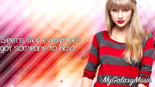 Taylor Swift - Christmases When You Were Mine (Lyrics) HD
