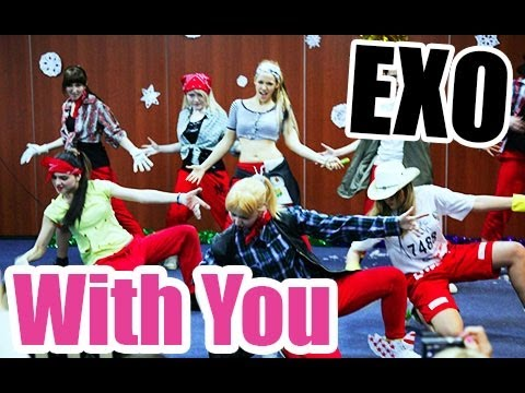 GLB (Di.Ent) - With You 님과 함께 (funny dance cover EXO) 131229