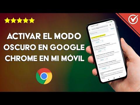 Cómo Activar el modo Oscuro en Google Chrome para un Móvil Android o iPhone