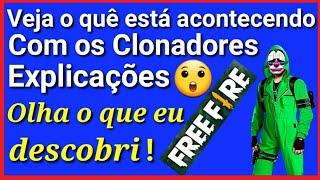 Conta Suspensa no Free Fire.( Explicações sobre os clonadores )André Soares 🔝