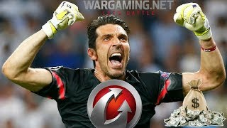 Co robi Buffon w World of Tanks ?