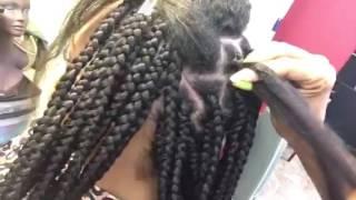 jumbo part box braids to save time
