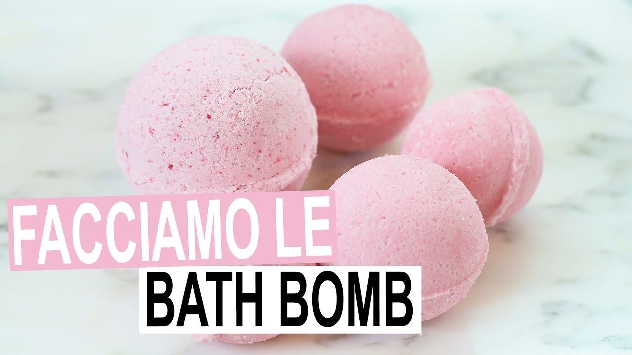 Ricetta Bombe Da Bagno Clio : Facciamo insieme le bombe da bagno lush youtube