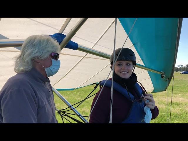 Hang Gliding SUNDAY 28 JUNE 2020 Locksley Airfield