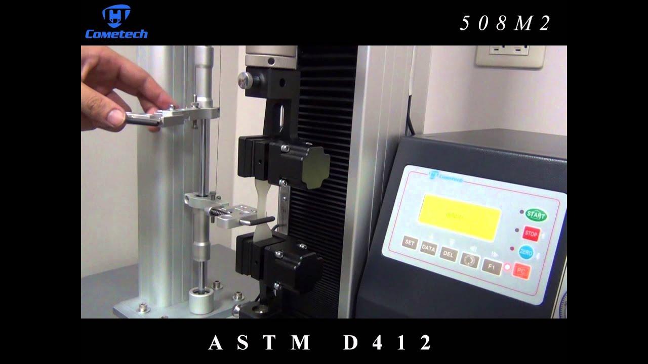 Astm D412 廣錸儀器股份有限公司 Youtube