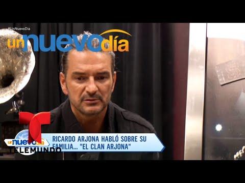 ¡Ricardo Arjona nos habló de su familia y de sus deseos!  Un Nuevo Día  Telemundo