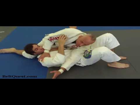 Inverted Triangle From Running Man Escape. Karel Pravec Renzo Gracie Black Belt