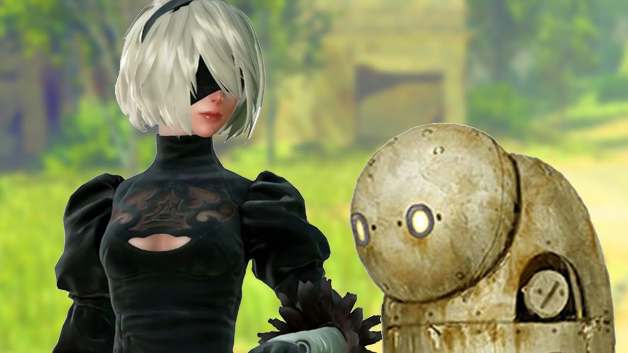 Nier Automata Cute Wallpaper Android Cute Robot Game Youtube