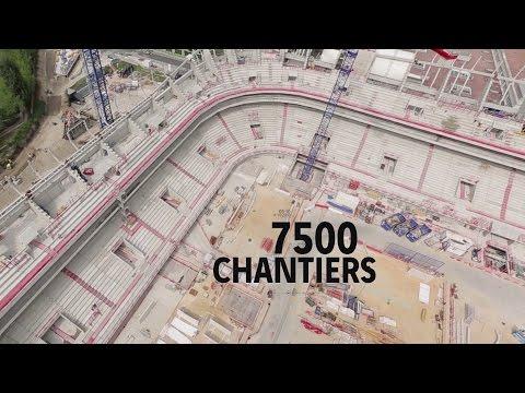 Rétrospective  VINCI Construction France 2016