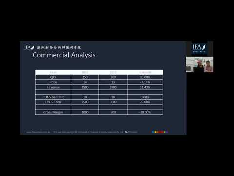 会计培训ifa:分析师part1 Andy commercial  analyst