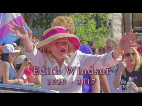 Edith Windsor, who fought to overturn DOMA, dies at 88