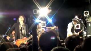 2013年4月19日(金)大阪あべのROCKTOWN FoZZFEST in OSAKAにて 冒頭の渡...