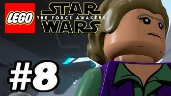 Lego Star Wars: The Force Awakens - Läpipeluu Osa 8 Vastarinta