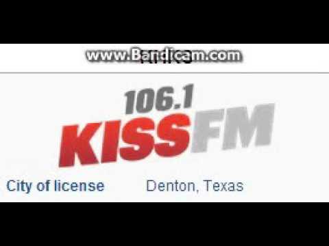 REDIO 2015: Day 6: KHKS: 1061 KISS FM Denton, TX 5pm TOTH ID100615