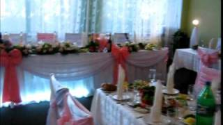 Оформление тканью,цветами,светом,чехлы на стулья, ткань, цветы, шарики, музыка на свадьбу от студии радуга,raduga shop com КДЦ Днепропресс 4,09(, 2010-09-27T19:51:05.000Z)