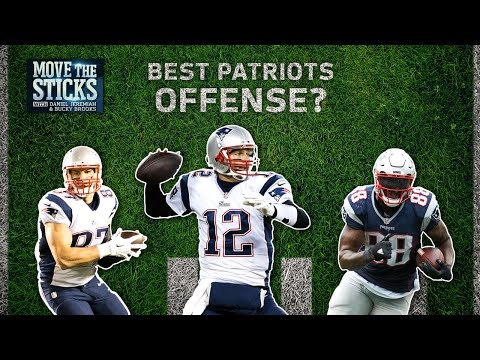 2016 Patriots Offense Better Than 2007? | Move the Sticks | NFL