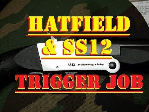 SS12 Hatfield Shotgun COMPLETE trigger job
