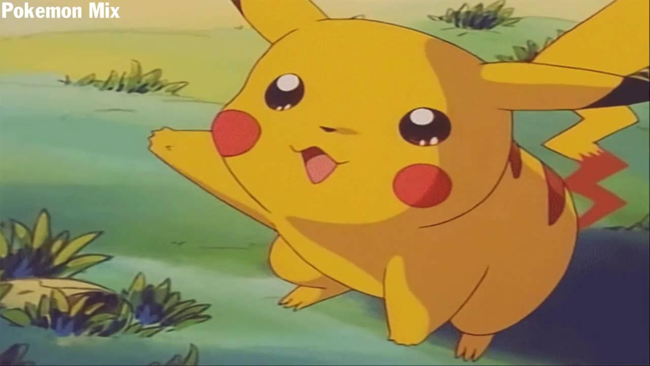 Thư giãn với hình ảnh pikachu dễ thương trong phim pokemon