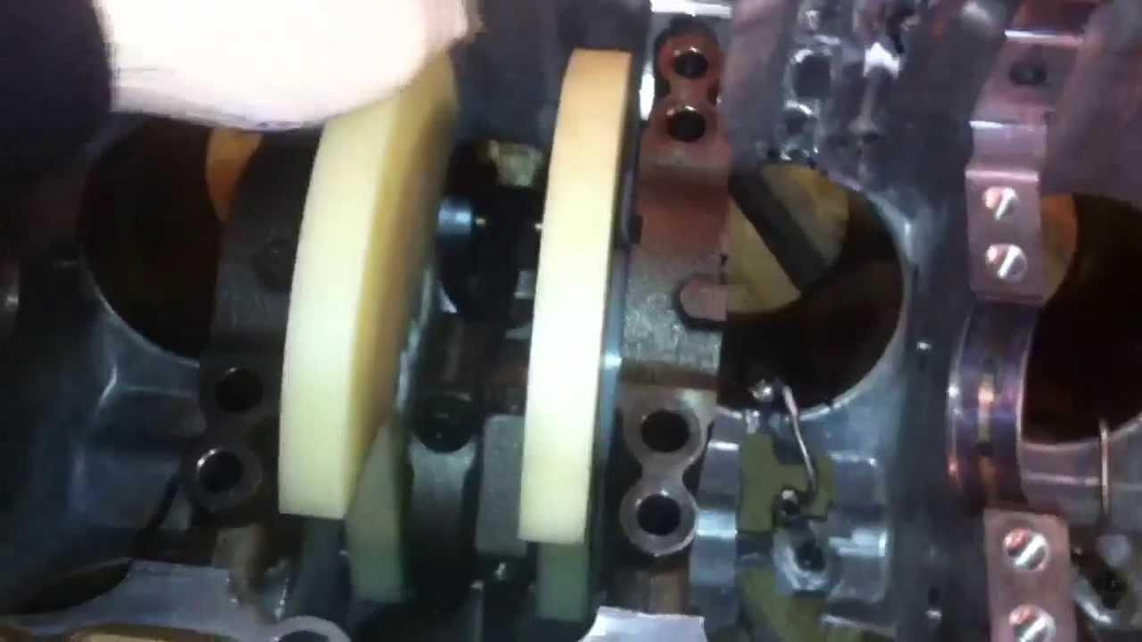 Toyota 3UR-FE stroker crank