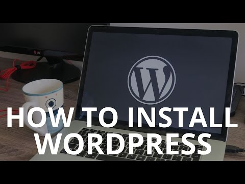 How to install WordPress on your local computer – WordPress tutorial 2