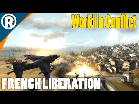 FRENCH LIBERATION - World in Conflict: Soviet Assault - Mission 10