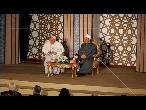 EGYPT    POPE FRANCIS MEETS EGYPTIAN GRAND IMAM OF AZHAR IN EGYPT