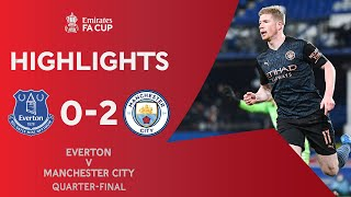 Gündoğan & De Bruyne Seal Semi-Final Spot | Everton 0-2 Manchester City | Emirates FA Cup 2020-21
