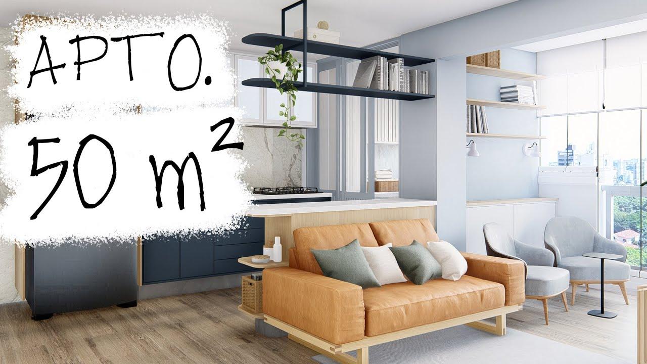 REFORMA APARTAMENTO NOVO 50 m²