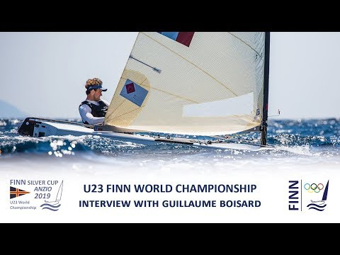 2019 Finn Silver Cup - Interview with Guillaume Boisard