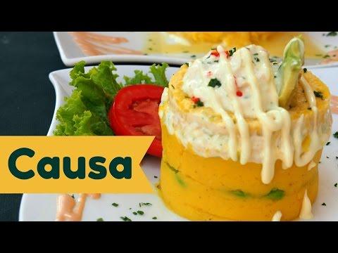 Causa: Eating our favorite Peruvian potato dish in Lima, Peru