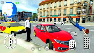 Car Simulator Civic - City Driving in Open World! Android gameplay screenshot 3