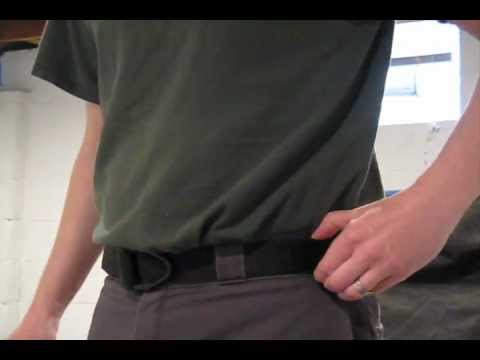 Uncle Mike's Reinforced Instructors Belt